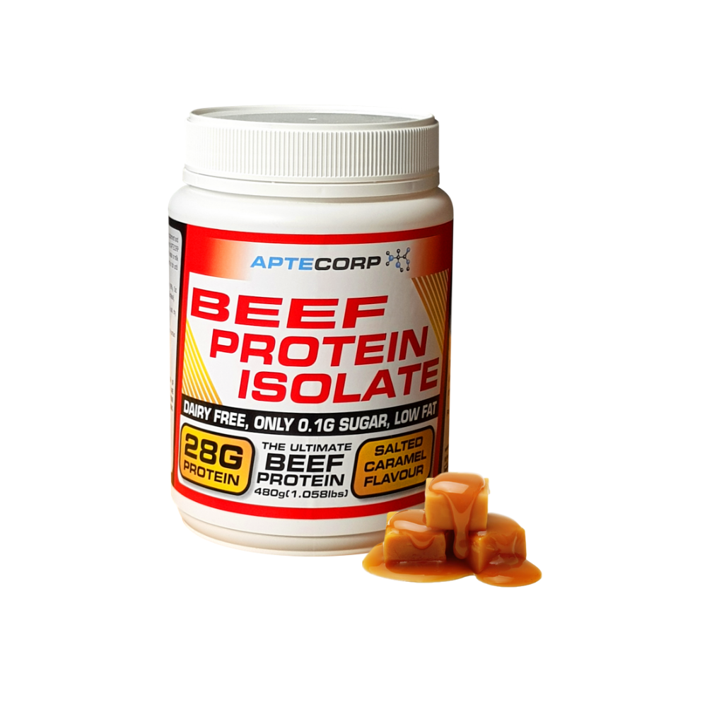 Salted Caramel Beef Protein Isolate