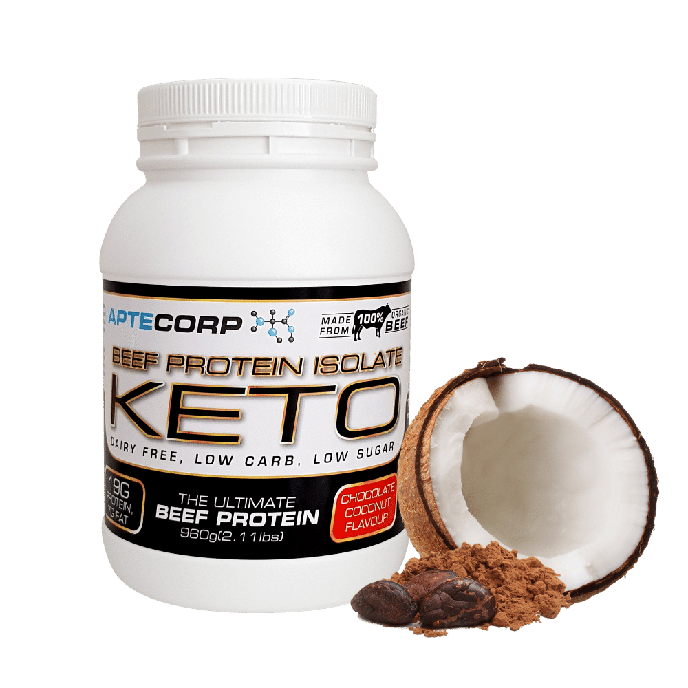 Chocolate Coconut Keto Beef Protein Isolate 960g