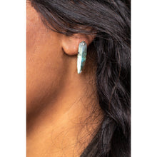 Load image into Gallery viewer, Labradorite Spear Earrings