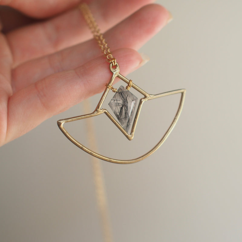 Crystal Amulet Necklace