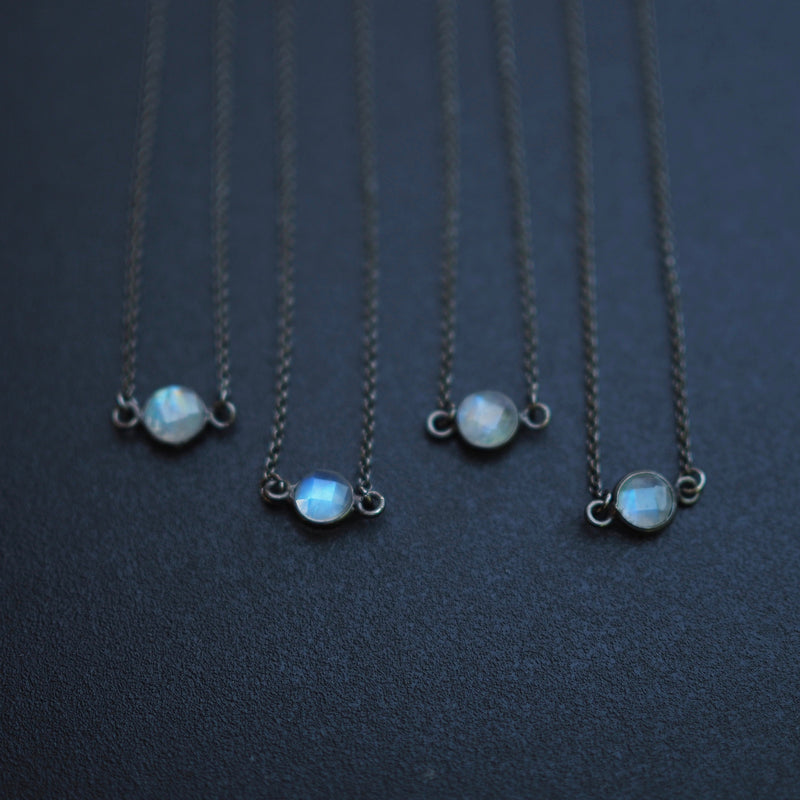 Mini Moonstone Choker