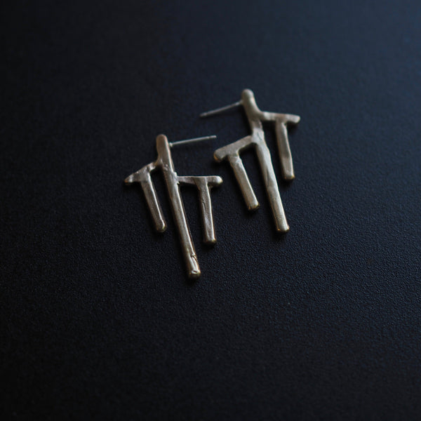 Nazca Post Earrings