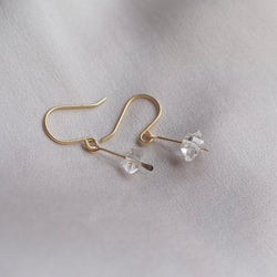 Dainty Herkimer Earrings