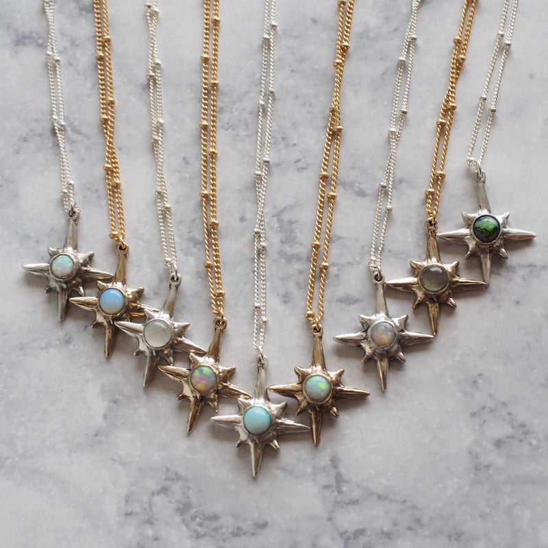 Silver Polaris Choker - North Star Necklace