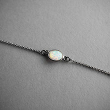 Load image into Gallery viewer, Flashy Opal Choker, Jewelry, Iron Oxide - Altar PDX