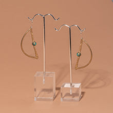 Load image into Gallery viewer, Waxing Moon Earrings