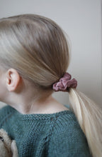 Load image into Gallery viewer, Mini scrunchies - Himmelblå & Rosa