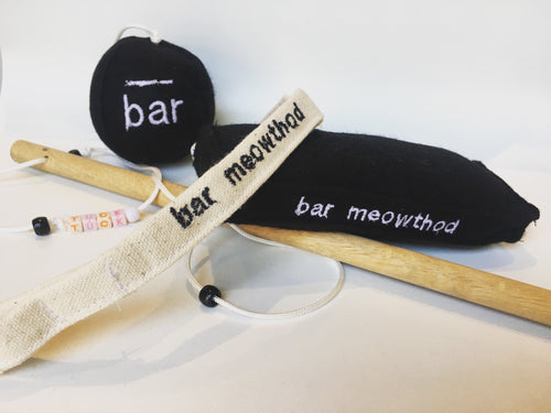 Limited Edition Bar Meowthod Wand Toy