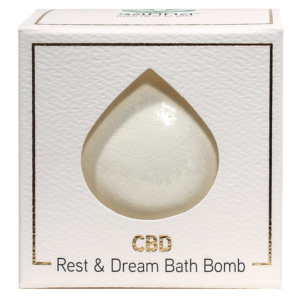 Sanna CBD Bath Bomb Rest & Dream