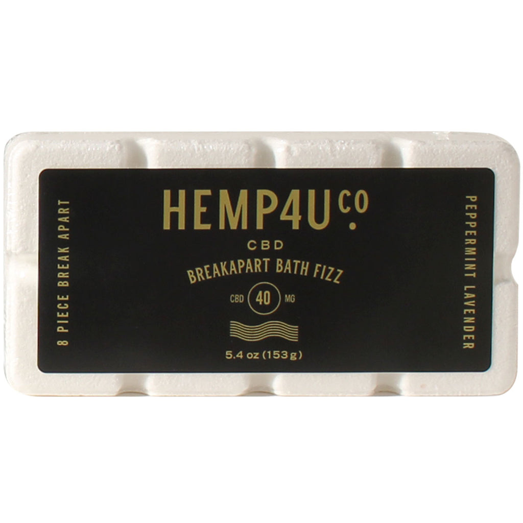 Hemp4UCo CBD Breakapart Bath Fizz