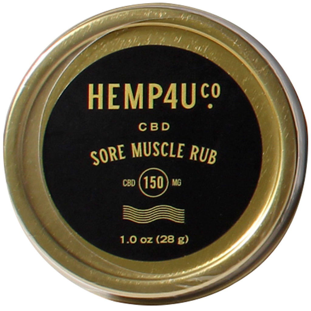 Hemp4UCo CBD Sore Muscle Rub