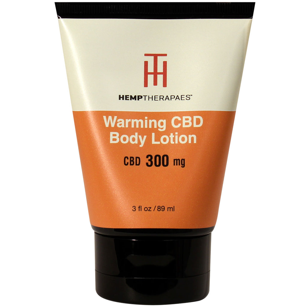 Hemptherapaes Warming CBD Body Lotion