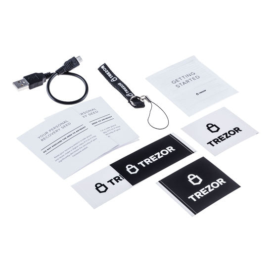 Trezor One Package Content