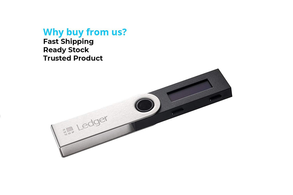 Ledger Nano S - Cryptocurrency Hardware Wallet - BitcoinWalletSG