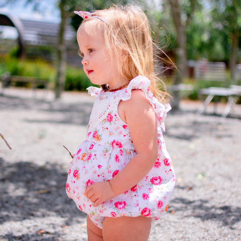 Bubble Romper + Headband - Peyton,  - LollipopHouse