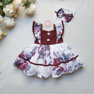 Sweetheart Dress + Headband – Hannah