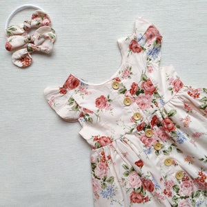 Flutter Dress - Rosie,  - LollipopHouse