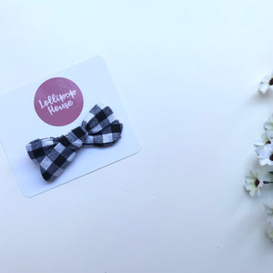 Maya Hair Clip - Checkered,  - LollipopHouse