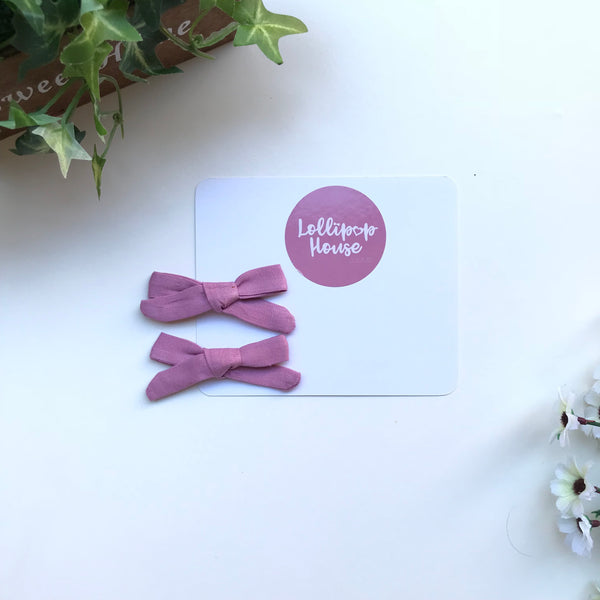 Maya Piggy Tail Hair Clips - Set of 2,  - LollipopHouse