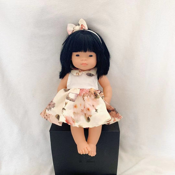 Doll Summer Dress + Bow - Lexi