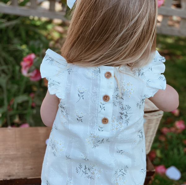 Flutter Top + Bow - Pippa