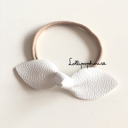 Isla Baby Headband - Faux Leather,  - LollipopHouse