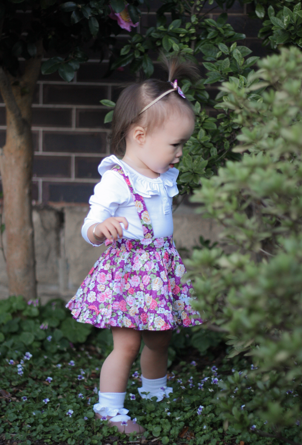 Detachable Ruffle Skirt - Gracie + Headband,  - LollipopHouse