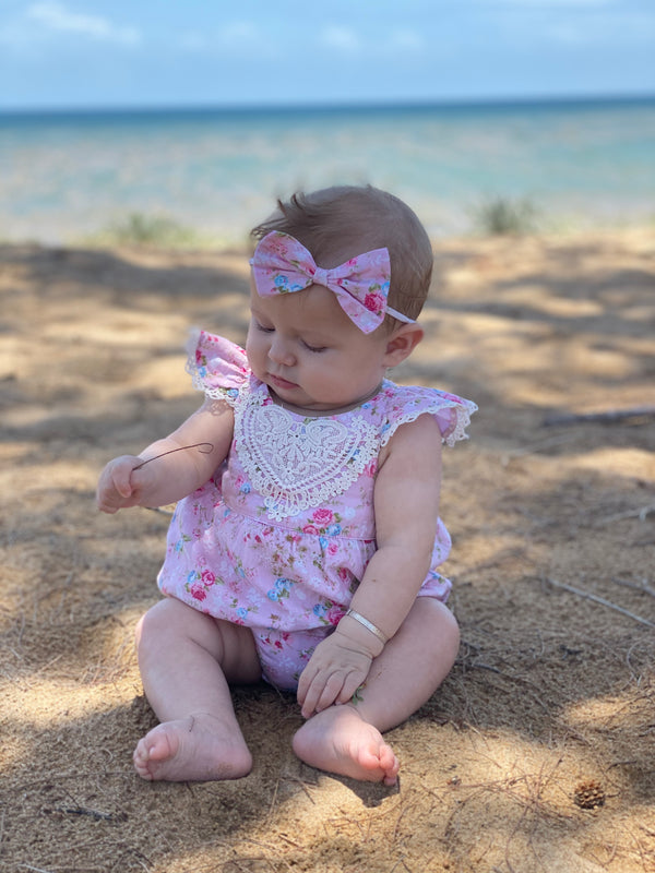 Bubble Romper + Headband - Aiyah