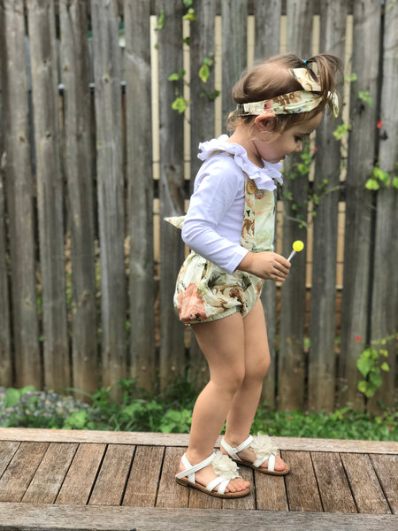 Detachable Overall + TopKnot - Fawn