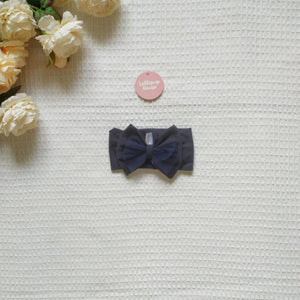 Tulle Headwrap - Navy,  - LollipopHouse
