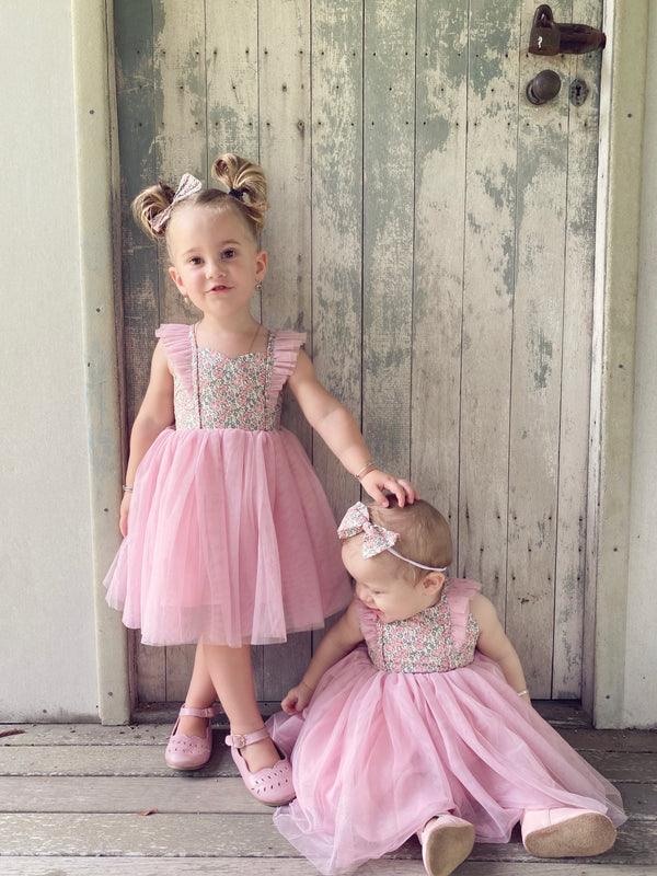 Fairy Tutu Dress + Bow - Delilah