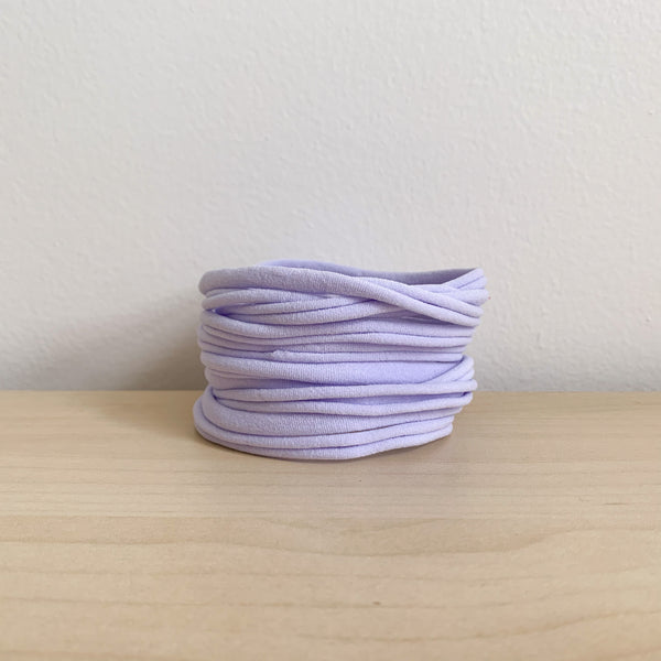 Ultrasoft Baby Nylon Headbands - Lavender