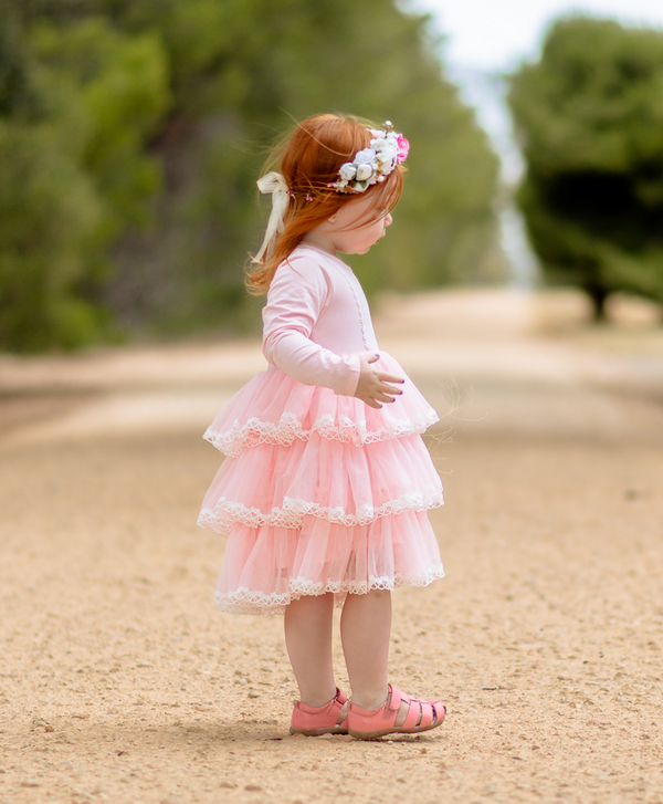 Pretty in Pink Tutu Dress