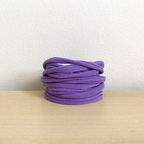 Ultrasoft Baby Nylon Headbands - Purple