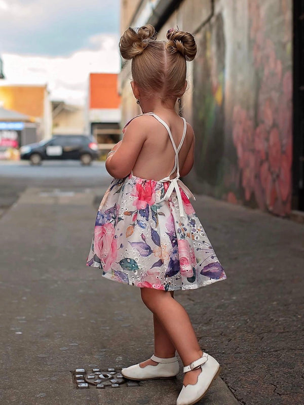 Summer Dress + Bow - Sophia
