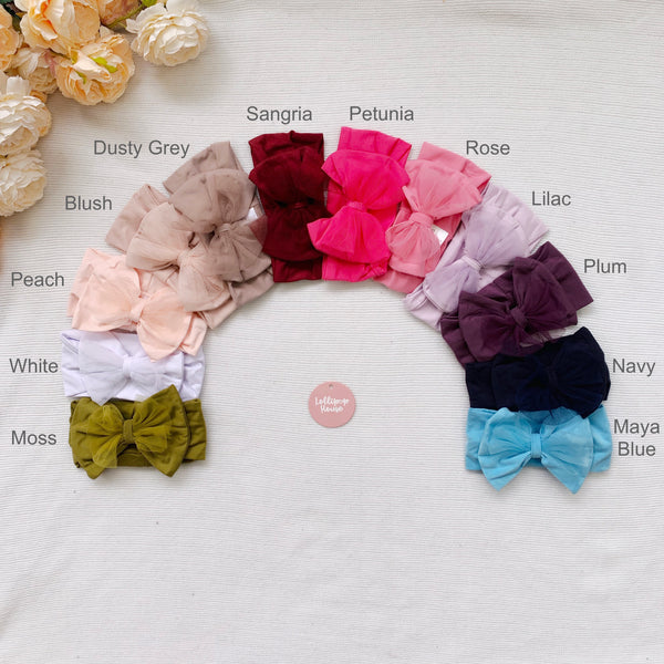 Tulle Headwraps,  - LollipopHouse