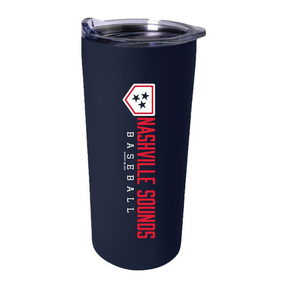 Nashville Sounds Navy 18 oz Travel Tumbler