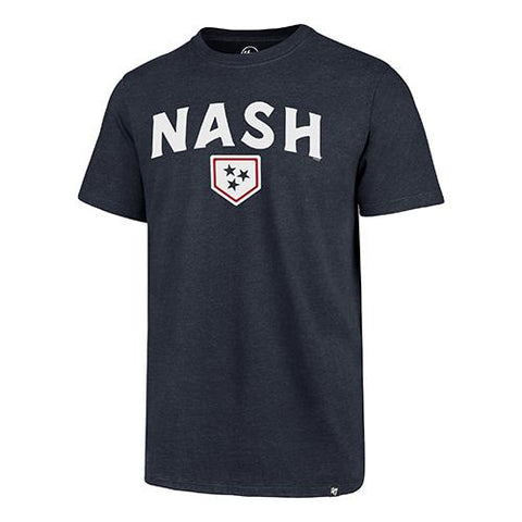 Nashville Sounds '47 Brand Navy Nash Club Tee