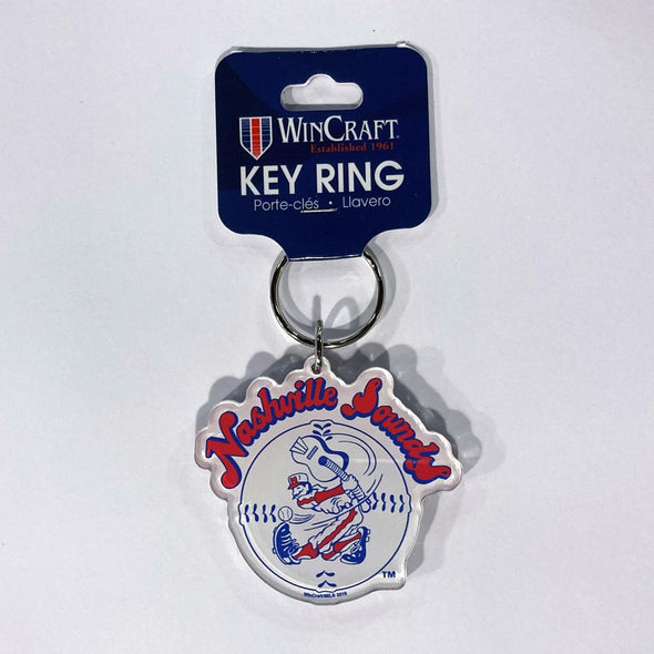 Nashville Sounds Throwback Acrylic Key Ring
