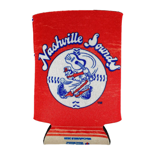 Nashville Sounds Throwback 12oz Can Cooler