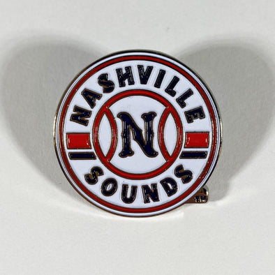 Nashville Sounds Primary Logo Lapel Pin