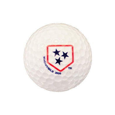 Nashville Sounds 3 Pack Golf Balls