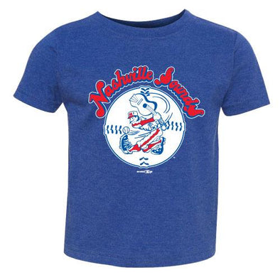Nashville Sounds Toddler Royal Throwback Tee