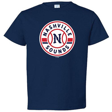 Nashville Sounds Toddler Navy Primary Logo T