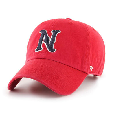 Nashville Sounds '47 Brand Red N Logo Clean Up Hat
