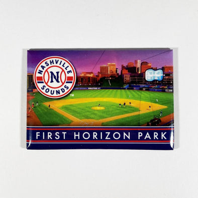 Nashville Sounds First Horizon Park 2x3 Magnet