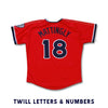 Nashville Sounds Youth Replica Red Alternate Jersey