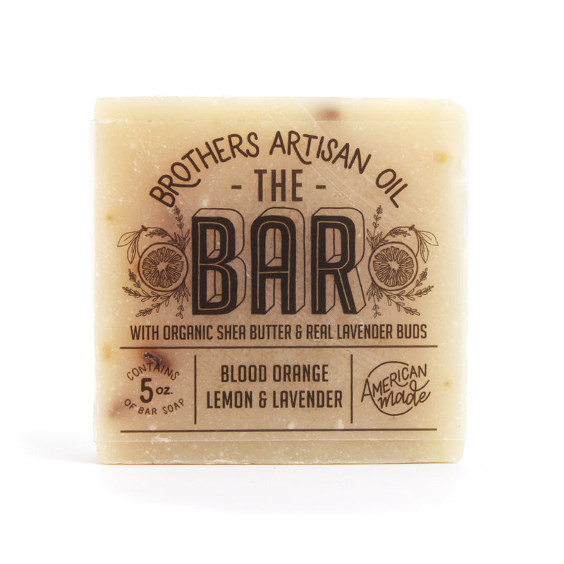 The Bar Soap: Blood Orange, Lemon, & Lavender