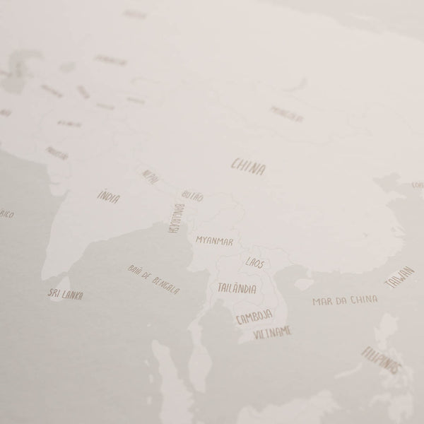 Artprint - Mapa do Mundo