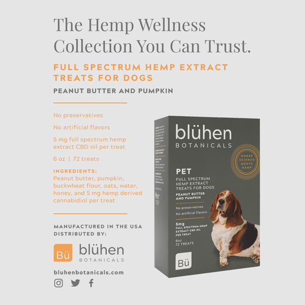 Full Spectrum Hemp Extract Treats for Dogs